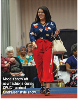 Models show off new fashions during CWJC's annual fundraiser style show