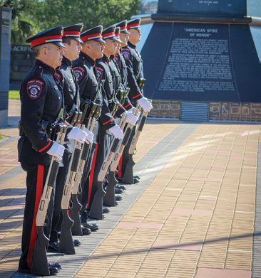 The Veteran's War Memorial in McAllen, Texas, honors veterans and teaches the history of our military.