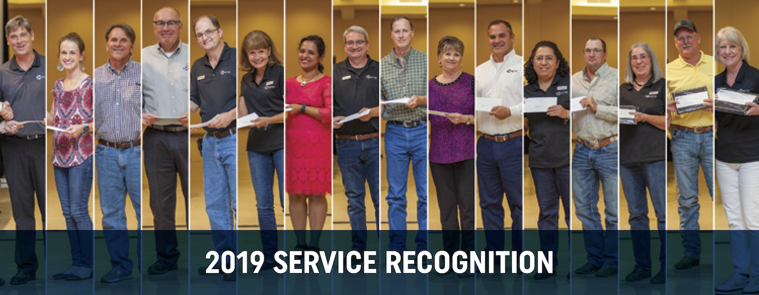 HCTC Service Recognition award winners